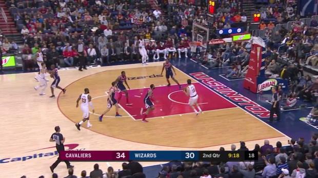 WSC: LeBron Posts 20 points, 15 assists & 12 rebounds vs. Wizards