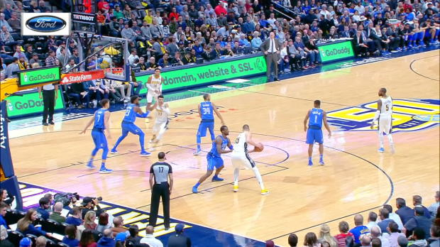 Assist of the Night: Nikola Jokic