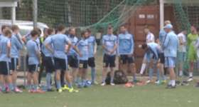 Graham Arnold insists Sydney FC need to focus on improving heading into the final 9 rounds of the season.
