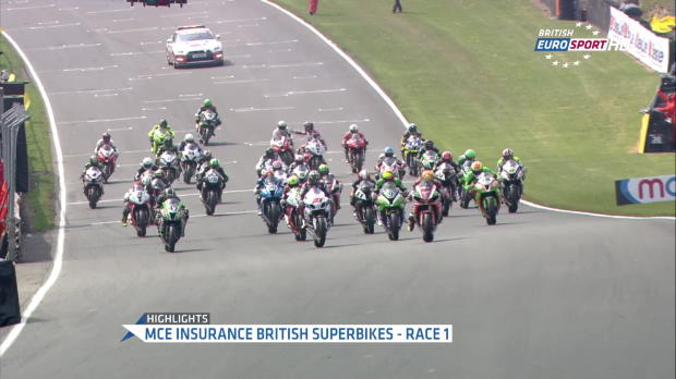 British Superbike, Brands Hatch Race 1