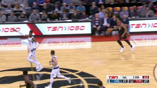 WSC: Dirk Nowitzki 8 points vs the Raptors