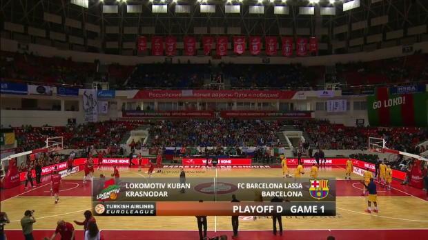 Highlights: Lokomotiv Kuban Krasnodar-FC Barcelona Lassa