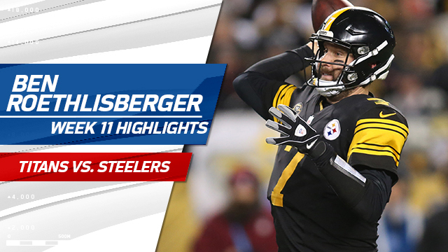 Ben Roethlisberger highlights | Week 11