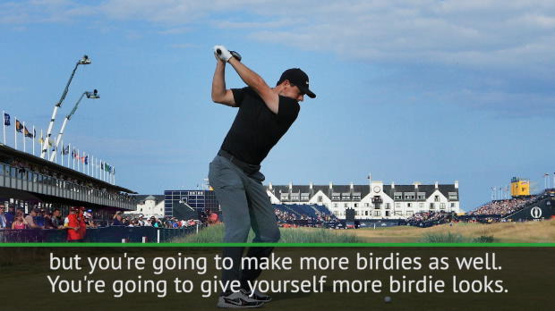 McIlroy backs aggressive approach at The Open
