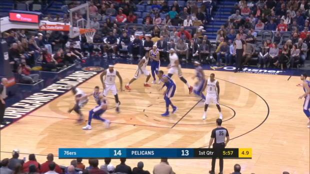 GAME RECAP: Pelicans 131, 76ers 124