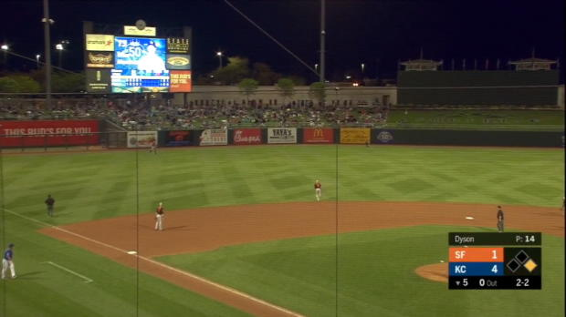 Merrifield's second home run