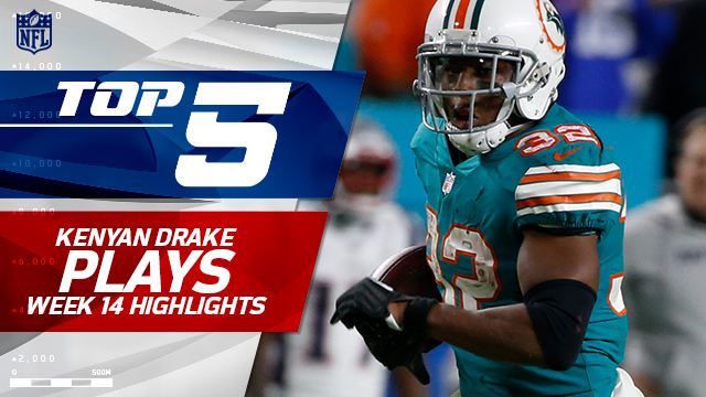 Top 5 Kenyan Drake plays | Week 14