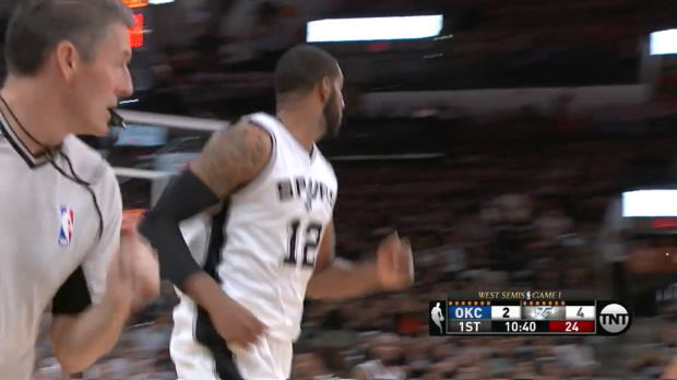 WSC: LaMarcus Aldridge goes for 38 points in win over the Thunder