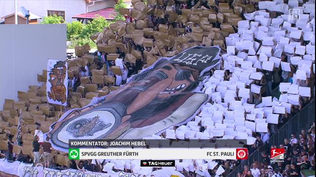 2. Bundesliga: SpVgg Greuther Fürth - FC St. Pauli   DAZN Highlights