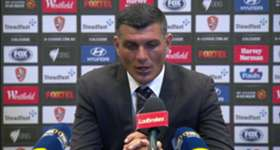 Brisbane Roar boss John Aloisi admitted his side were 'flat' in their 2-1 loss to Wellington Phoenix.
