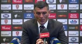 Brisbane Roar boss John Aloisi admitted his side were 'flat' in their 2-1 loss to Wellington Phoenix.