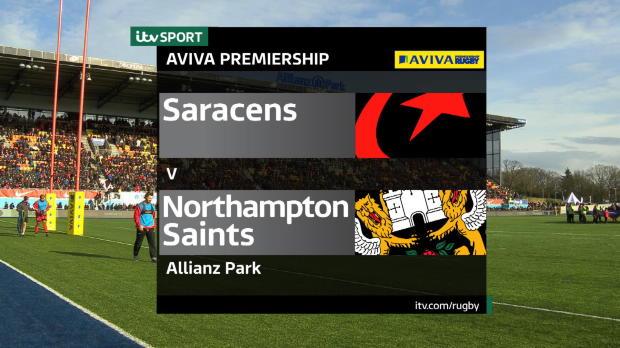 Aviva Premiership - Saracens v Northampton Saints