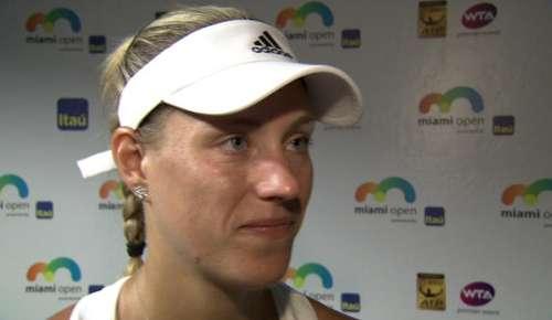 Kerber Interview: WTA Miami QF
