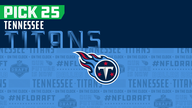 Tennessee Titans pick No. 25 | NFL Mock Draft Live