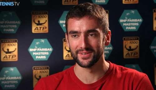 Cilic Interview: ATP Paris QF