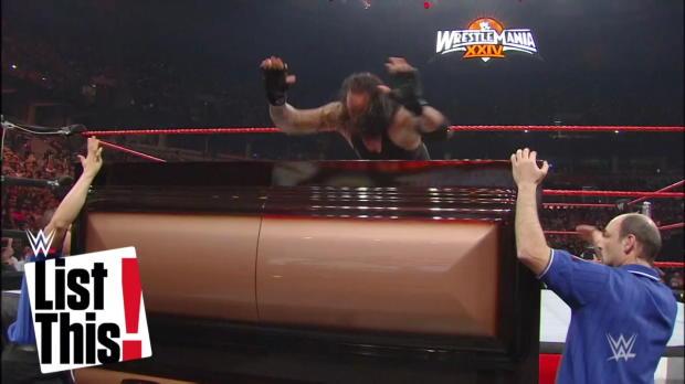5 Superestrellas que vencieron a The Undertaker en Luchas de Ataúd: WWE List This!