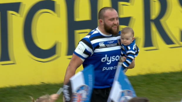 Aviva Premiership : Aviva Premiership - Match Highlights - Bath Rugby v Newcastle Falcons - Round 13
