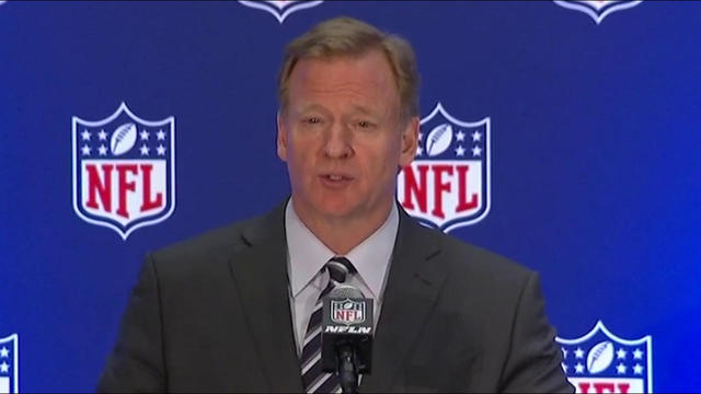 Roger Goodell: We encourage players to stand for anthem, but continue to work on 'underlying issues'