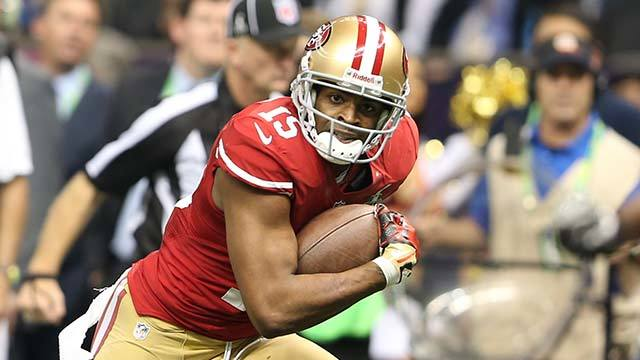 Michael Crabtree targeted on 49ers' final three passes vs. Ravens in Super Bowl XLVII
