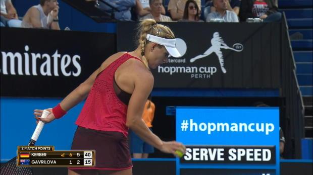 Hopman Cup: Kerber und Zverev stehen im Finale