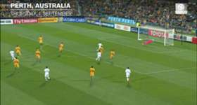 Mat Ryan says Australia's persistence eventually paid off in their 2-0 win over Iraq in Perth.