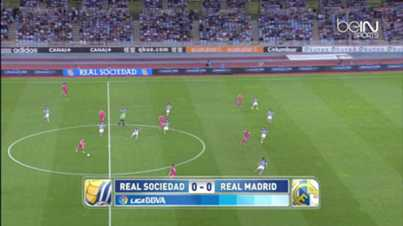 Liga : Real Sociedad 4-2 Real Madrid