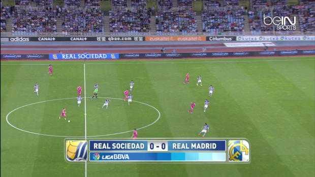 Liga : Real Sociedad 4-2 Real Madrid
