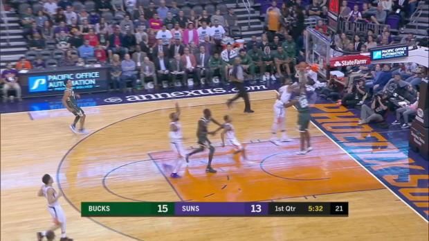 GAME RECAP: Bucks 113, Suns 107