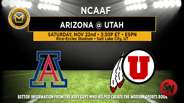 Arizona Wildcats @ Utah Utes