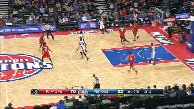Buzzer Beater of the Night: Andre Drummond