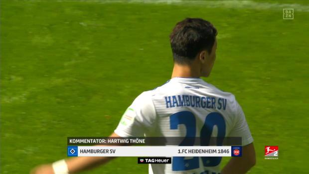 2. Bundesliga: Hamburger SV - FC Heidenheim 1846 | DAZN Highlights