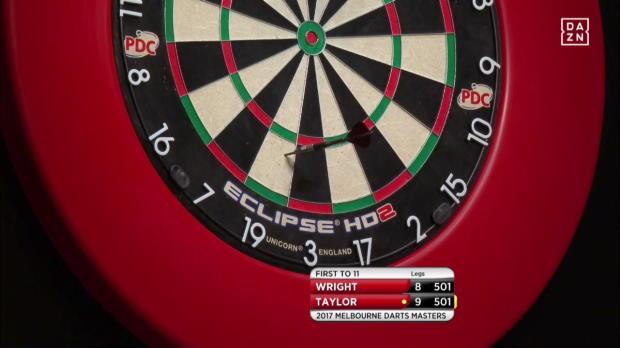 Darts: Taylor mit Bulls Eye zum Sieg