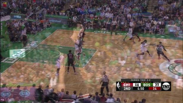 WSC: Paul Zipser 5 points vs the Celtics