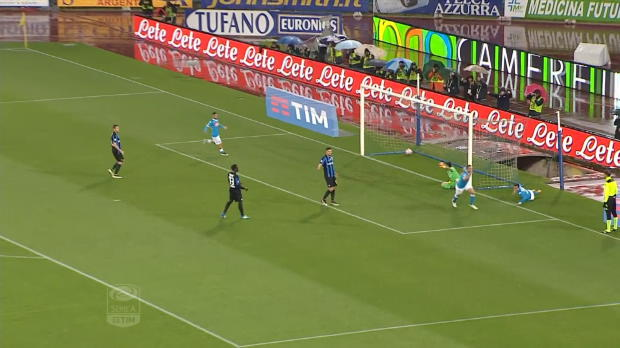 Serie A Round 36: Napoli 2 - 1 Atalanta