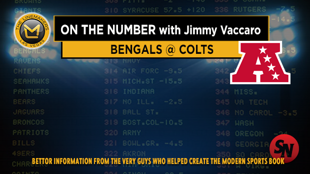 Jimmy V on Bengals @ Colts