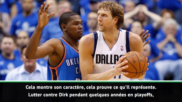 """Basket : NBA - Durant - """"L'héritage de Nowitzki perdurera pour toujours"""""""
