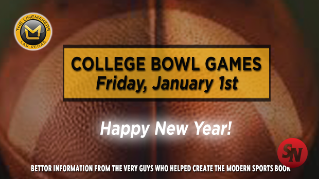 College Bowl Games New Years Day