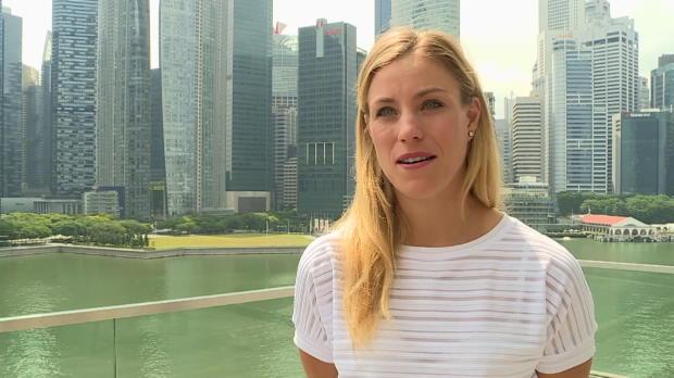 """Singapur: Kerber: """"Will alle schlagen!"""""""
