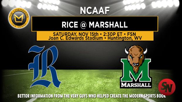 Rice Owls @ Marshall Thundering Herd