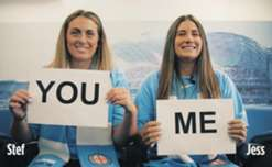 The first episode of 'Fan Mates' sees fans Stef and Jess elaborating on their match day rituals and favourite chants in support of City.