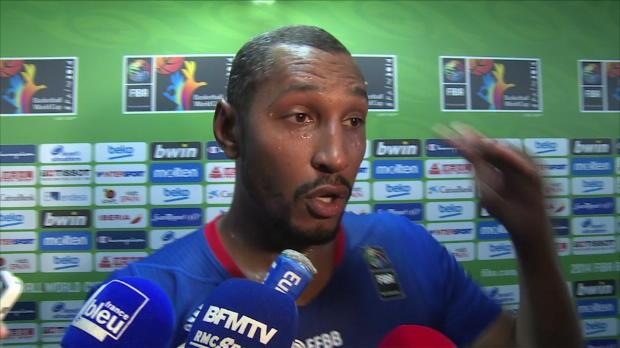 """Basket : FIBA - Bleus - Diaw - ''On est mieux rentré dans la deuxième mi-temps"""""""