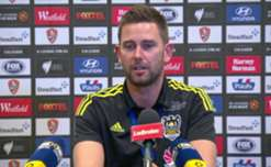 Phoenix coach Des Buckingham said he was proud of his side's effort and application in their 2-1 win over Brisbane Roar.
