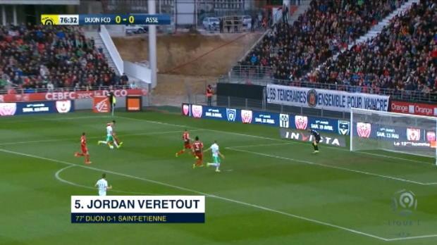 كرة قدم: الدوري الفرنسي: أفضل خمسة أهداف- المرحلة 30