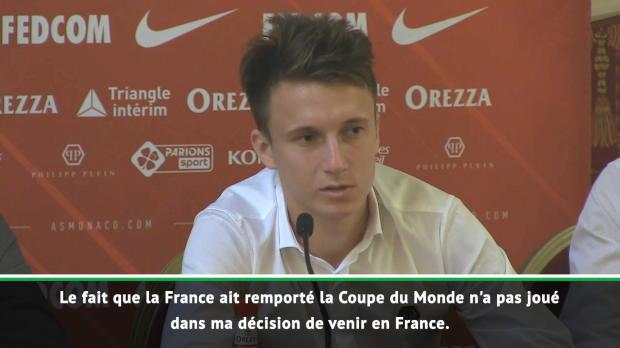 ASM - Golovine - 'La victoire de la France n'a pas influencé mon choix'