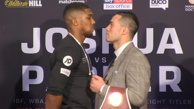 Boxen: Joshua vs. Parker: Kampf der Superlative