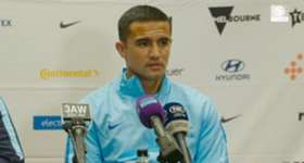 Tim Cahill says the Caltex Socceroos are being kept on their toes every day in training to ensure that are ready for every game coming up in June.