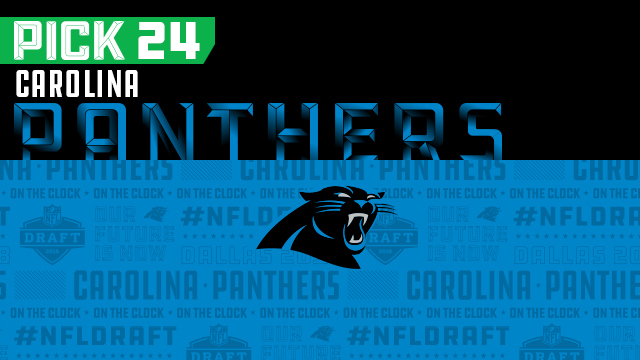 Panthers pick No. 24 | NFL Mock Draft Live