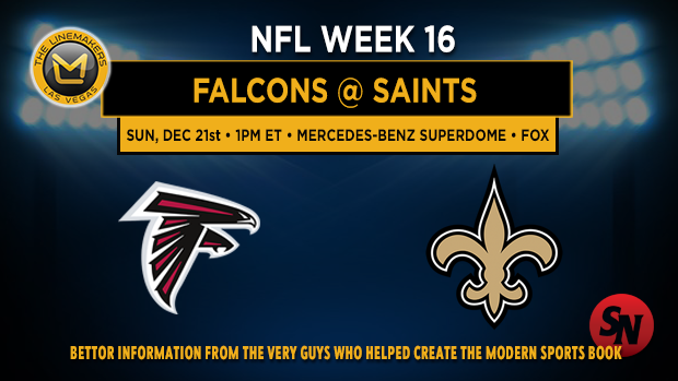 Atlanta Falcons @ New Orleans Saints