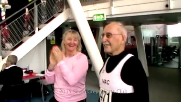 Sprint: 95 Jahre! Engländer mit Weltrekord