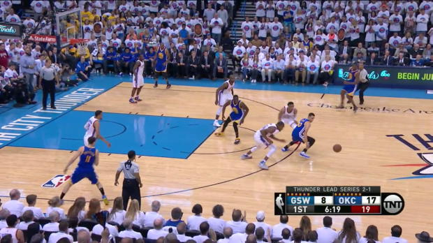 WSC: Highlights: Kevin Durant (26 points) vs. the Warriors, 5/24/2016